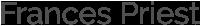 The Garnered - Frances Priest Logo