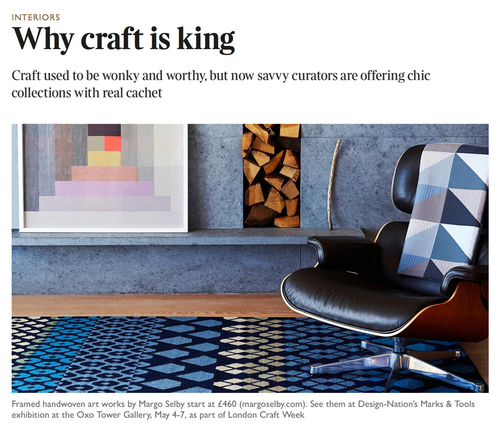 The Garnered - Sunday Times Why Craft Is King The Garnered Feed