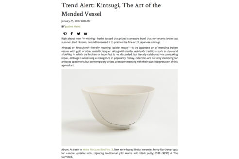 The Garnered - Remodeista Kintsugi 1
