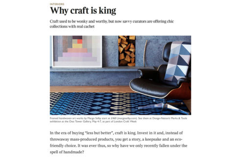 The Garnered - Sunday Times Why Craft Is King The Garnered