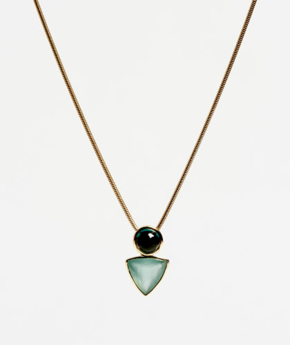 The Garnered - Power Pendant Necklace Abby Mosseri Jewellery The Garnered 57