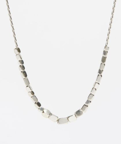 The Garnered - Silver Necklace Abby Mosseri Jewellery The Garnered 1