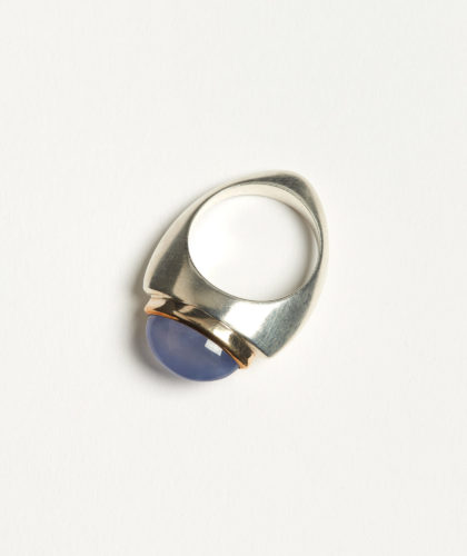 The Garnered - Talisman Ring Chalcedony Abby Mosseri Jewellery The Garnered 43