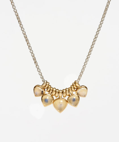 The Garnered - Temple Necklace Abby Mosseri Jewellery The Garnered 1
