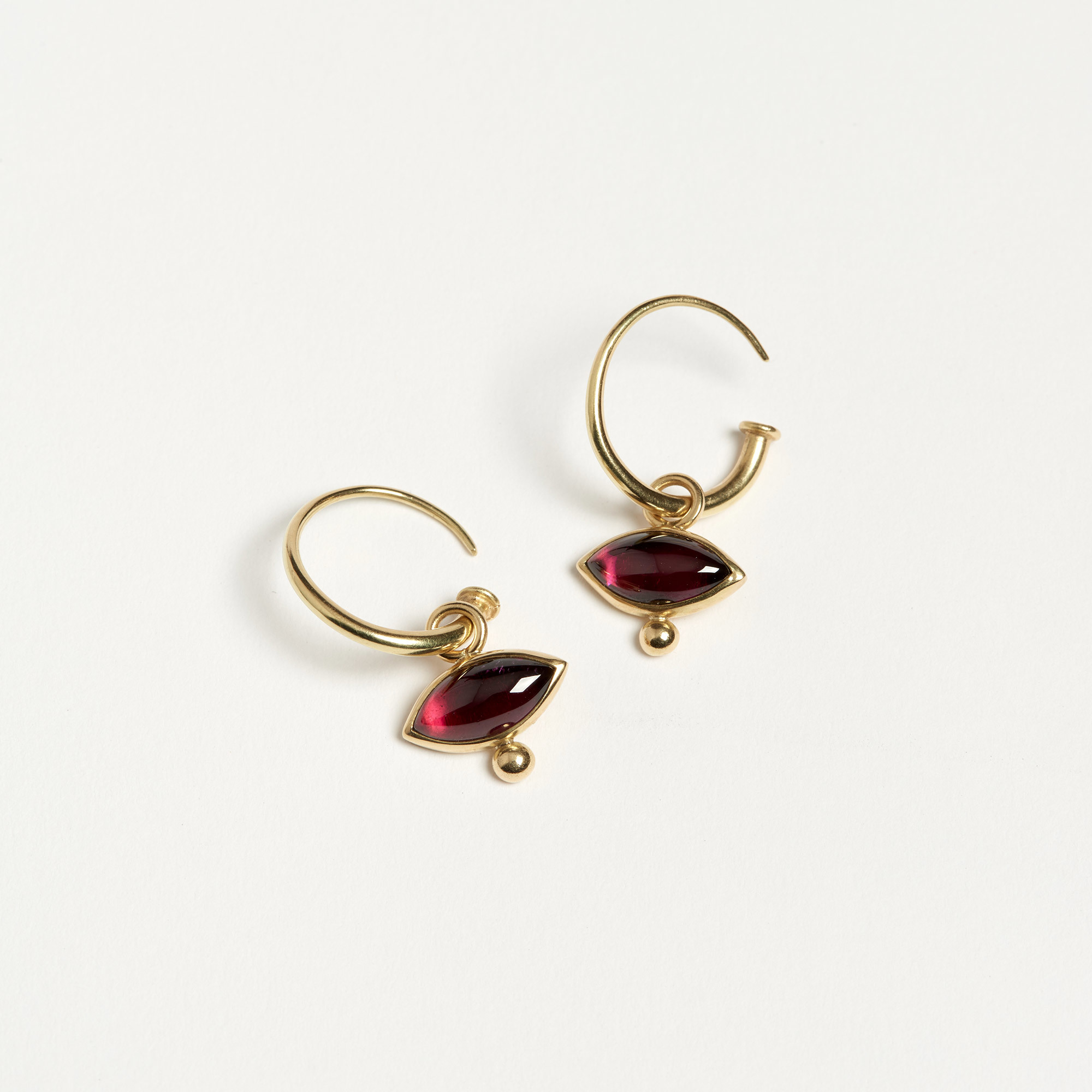 mosseri crop rhodolite jewellery abby earrings paradise with garnet