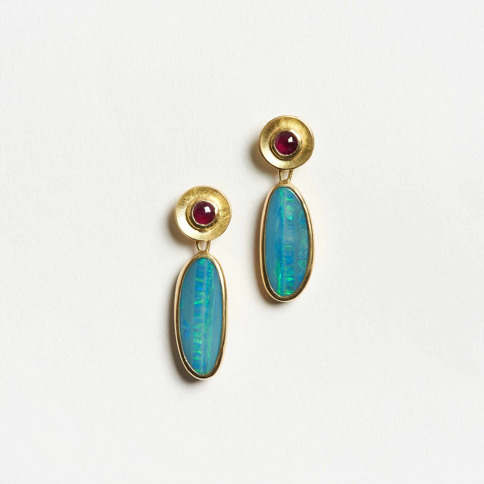 earrings jewellery colorful gems real stud opal bright oval flashopal gold studs