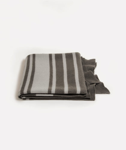 The Garnered - Gray Muskoka Felted Throw Adrienne Rogers Textiles The Garnered 007