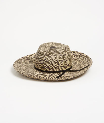 The Garnered - Casablanca Striped Panama Anthony Peto Hats The Garnered 1