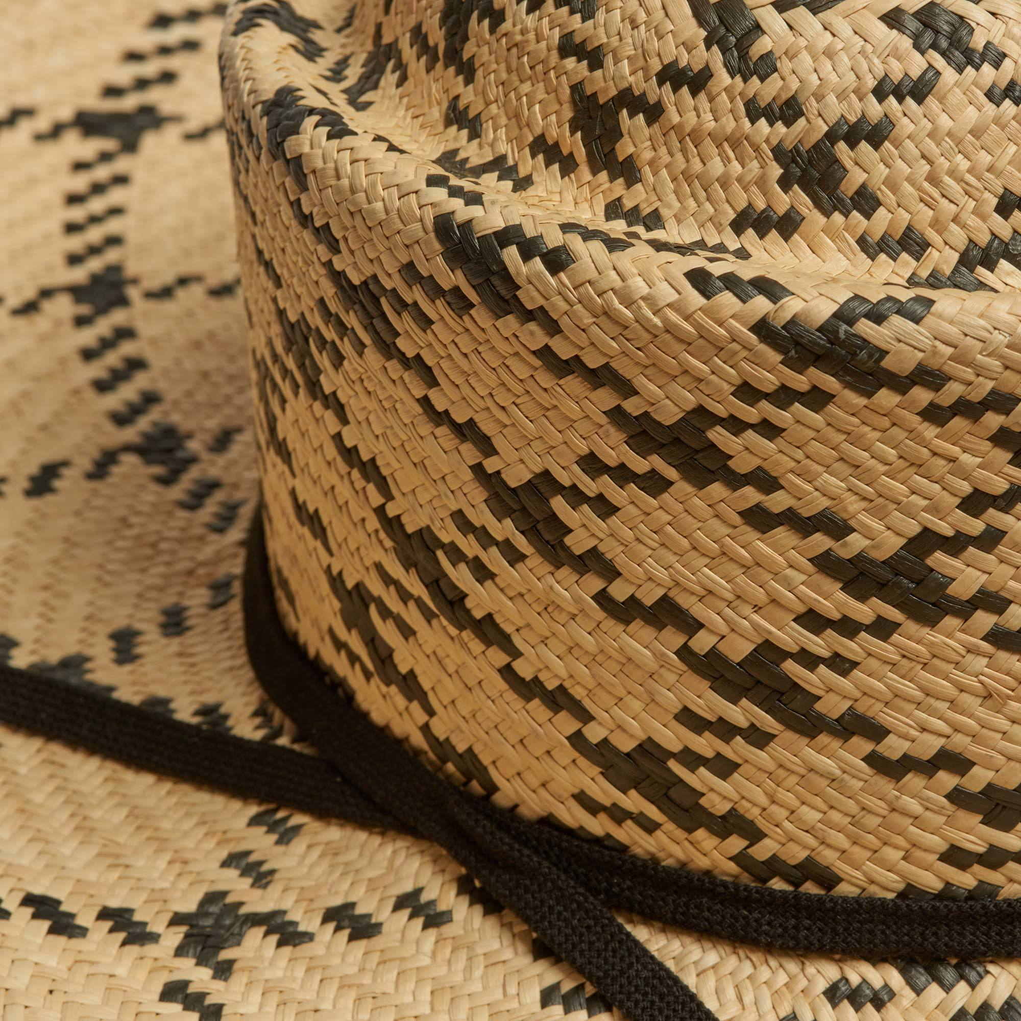 d664ad3e6ba76d Lucky Jim Wide Brim Panama Hat | The Garnered