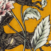 'Crépuscule' Fabric in Yellow - Antoinette Poisson Fabric Hare The Garnered
