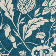 'Indienne' Fabric in Blue - Antoinette Poisson Fabric Indienne Bleu The Garnered