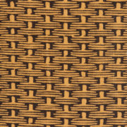 'Willow Weave' Fabric – Dark - Antoinette Poisson Fabric Osier Dark The Garnered