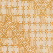 'Point de Hongrie' Fabric in Yellow - Antoinette Poisson Fabric Point De Hongrie Jaune The Garnered