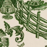 'Jardin' Wallpaper in Green - Antoinette Poisson Wallpaper Jardin Vert The Garnered