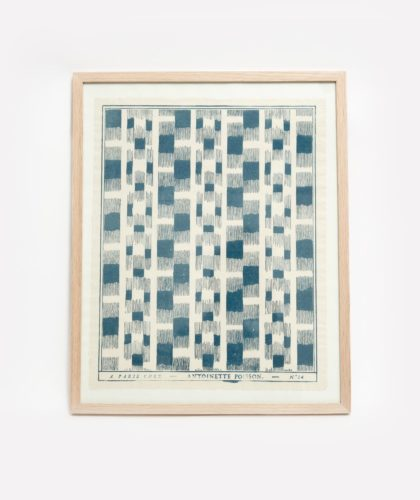 The Garnered - Revised Blue Framed Domino
