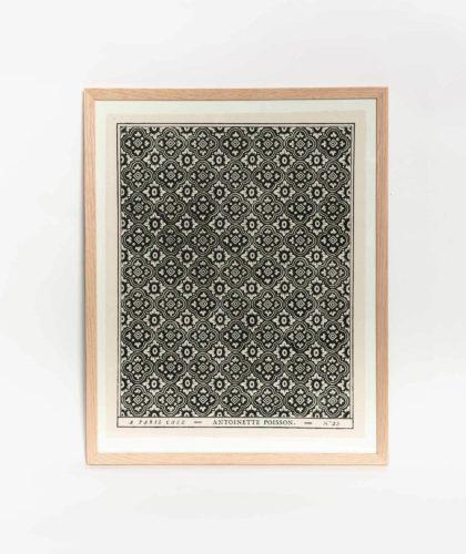 The Garnered - Black White Framed Print Antoinette Poisson The Garnered 001
