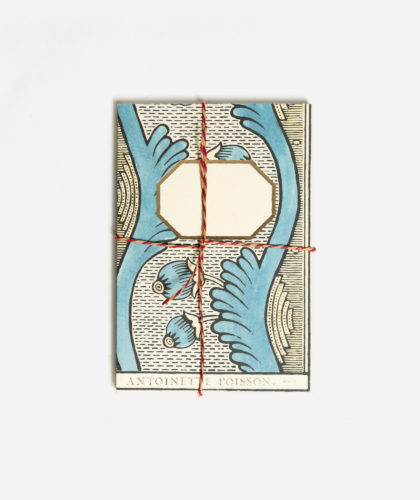 The Garnered - Small Notebook Blue Yellow Antoinette Poisson The Garnered 001
