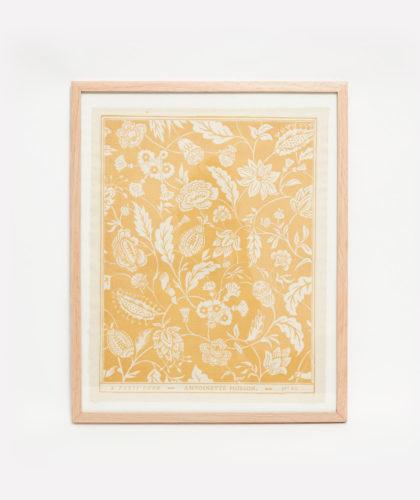 The Garnered - Yellow Framed Print Antoinette Poisson The Garnered 001 2