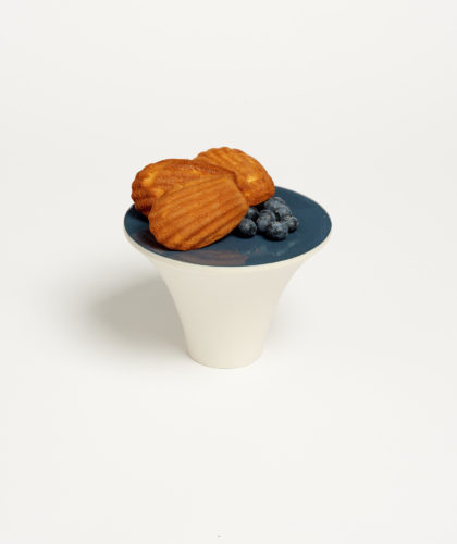 The Garnered - Blue Glaze Cake Stand Ben Sutton Ceramics The Garnered 6