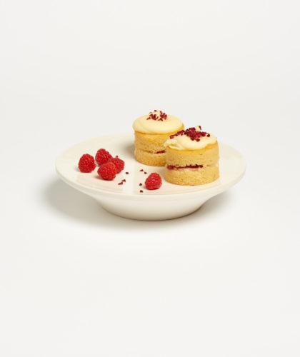 The Garnered - White Glaze Cake Stand Ben Sutton Ceramics The Garnered 12