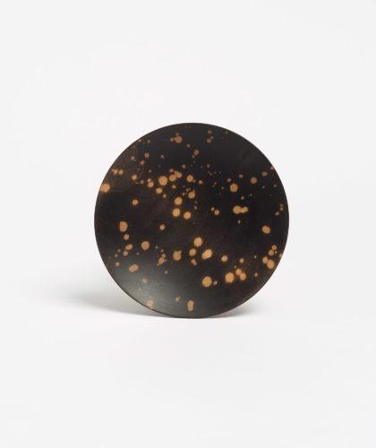 The Garnered - Black Splatter Spice Bowl Blackcreek Mercantile Wood The Garnered 17