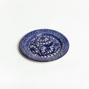 Hand-Painted Blue Ceramic Classic Dinner Plate - Blue 26Cm Classic Plate Casa Lopez Ceramics The Garnered