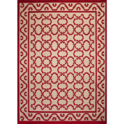 Pia Wool Rug - Casa Lopez Rug The Garnered Pia Vermillon Vertical