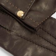 Men's Vendome Brown Leather Gloves - Causse Brown Vendome Gloves The Garnered 28