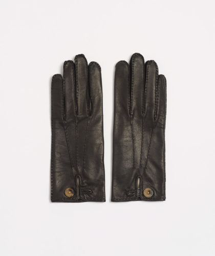The Garnered - Causse Black Honorine Gloves The Garnered 30