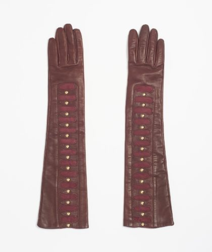 The Garnered - Causse Burgundy Zelmire Gloves The Garnered 38