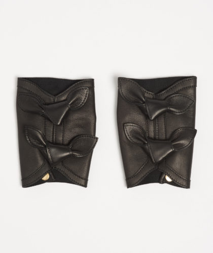 The Garnered - Baila Black Causse Gloves The Garnered 7