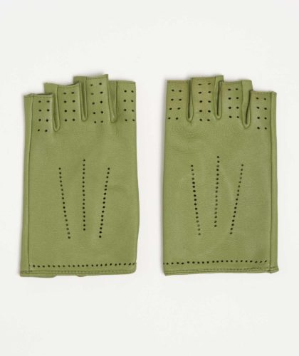 The Garnered - Balthazar Green Causse Gloves The Garnered 1