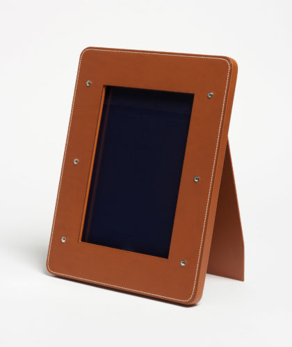 The Garnered - Connolly Photograph Frame Leather The Garnered 6