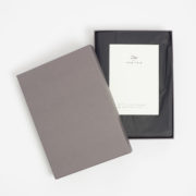 Doe x Mark + Fold Limited-Edition Leather Notebook Cover - Doe Leather Notebook Cover The Garnered 5