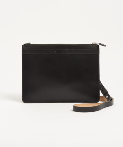 The Garnered - Brogue Cross Body Bag Doe Leather The Garnered 1