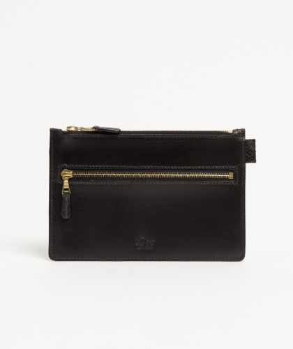 The Garnered - Two Zip Purse Doe Leather The Garnered 36
