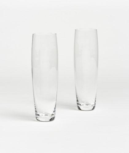 The Garnered - Curved Champagne Glass Deborah Ehrlich Glassware The Garnered 35