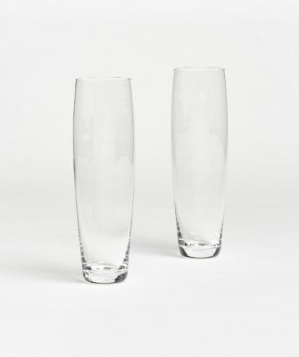 The Garnered - Curved Champagne Glass Deborah Ehrlich Glassware The Garnered 35