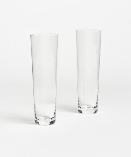 The Garnered - Straight Champagne Glass Deborah Ehrlich Glassware The Garnered 32
