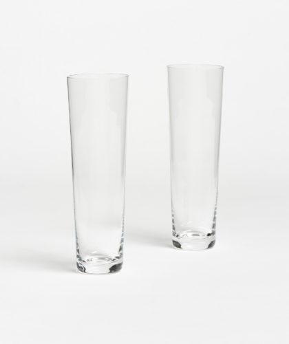 The Garnered - Straight Champagne Glass Deborah Ehrlich Glassware The Garnered 32