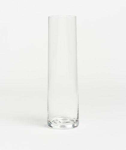 The Garnered - Thin Cylinder Cosmos Bud Vase Deborah Ehrlich Glassware The Garnered 42