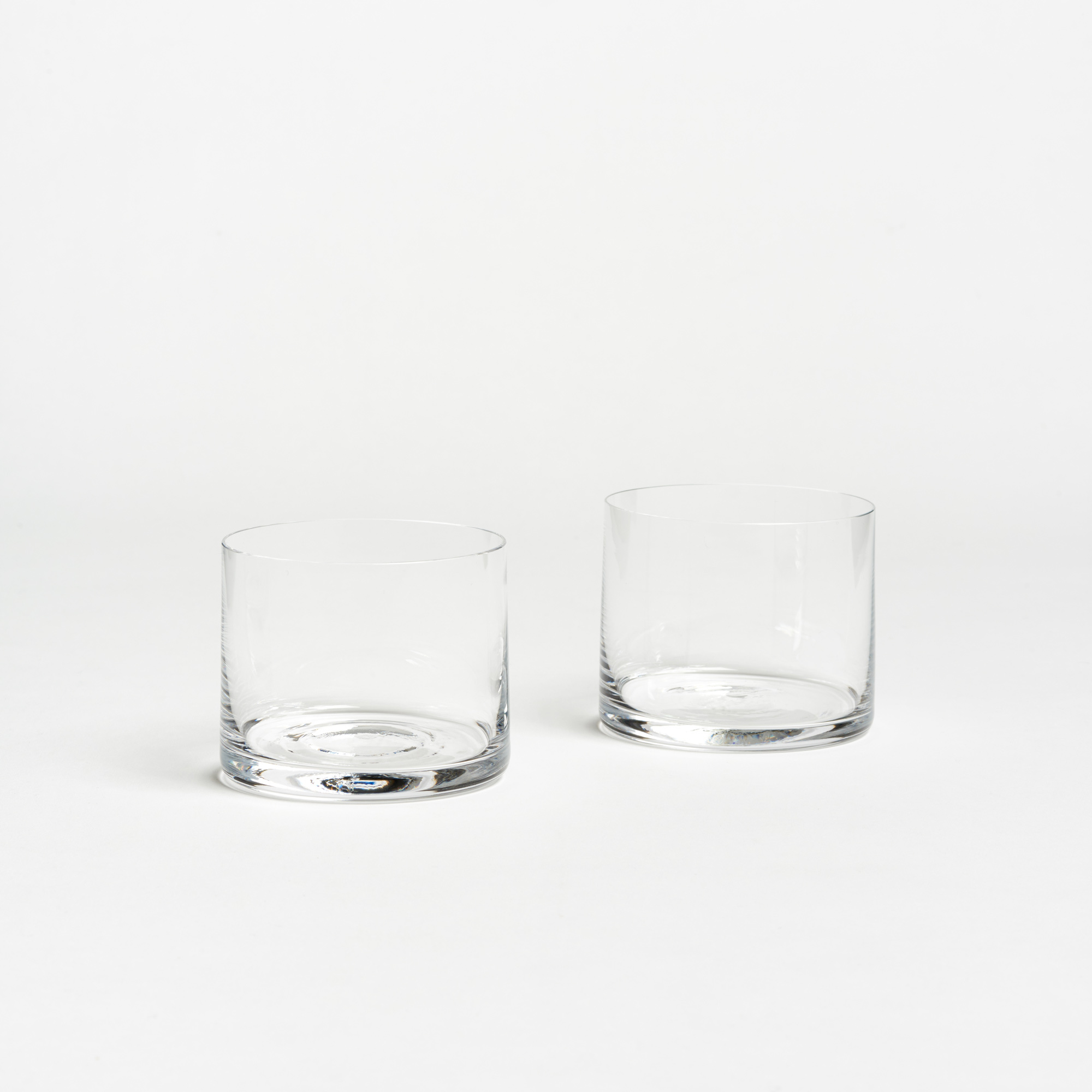 pair of simple crystal rocks glasses - Rocks Glasses