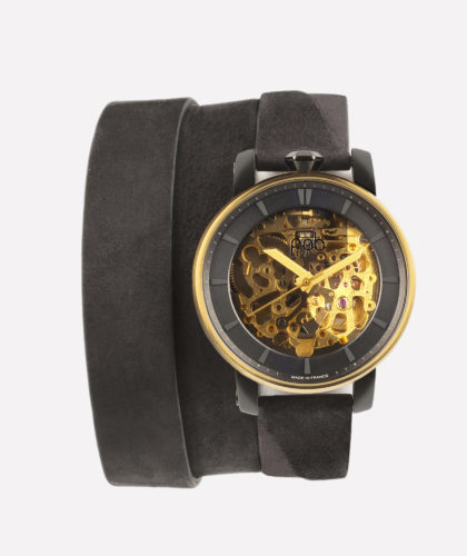 The Garnered - Fob Rehab 360 Gold Triple Strap Fob Watches The Garnered