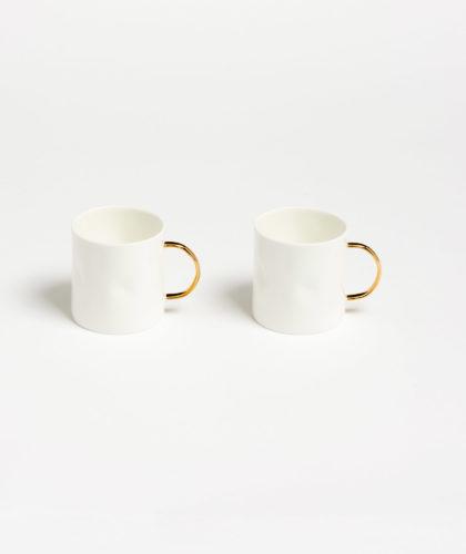 The Garnered - Gold Coffee Cup Feldspar Ceramics The Garnered 7