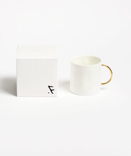 The Garnered - Gold Tea Mug Feldspar Ceramics The Garnered 2