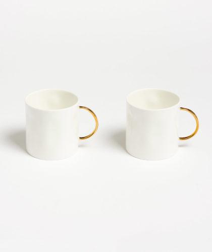 The Garnered - Gold Tea Mug Feldspar Ceramics The Garnered 3