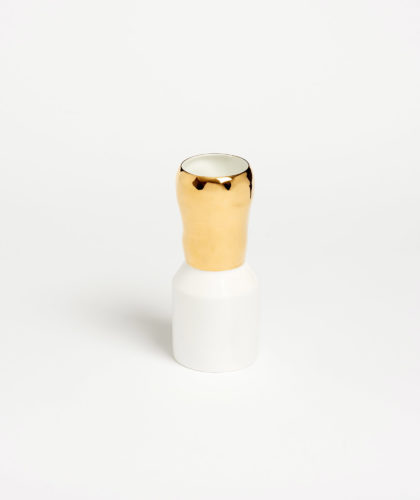 The Garnered - Gold Vase Feldspar Ceramics The Garnered 15