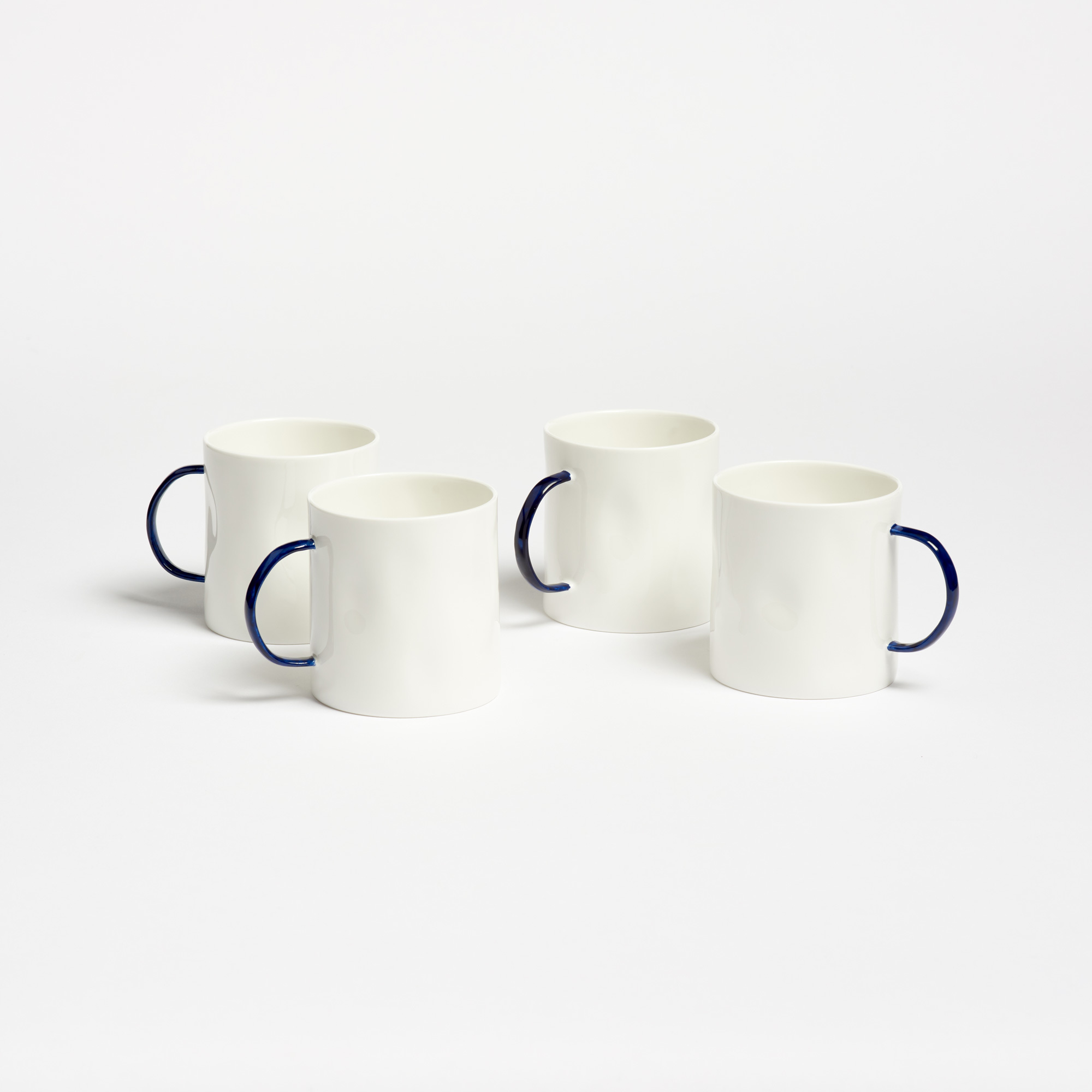Feldspar Set of 4 Bone China Coffee Mugs The Garnered