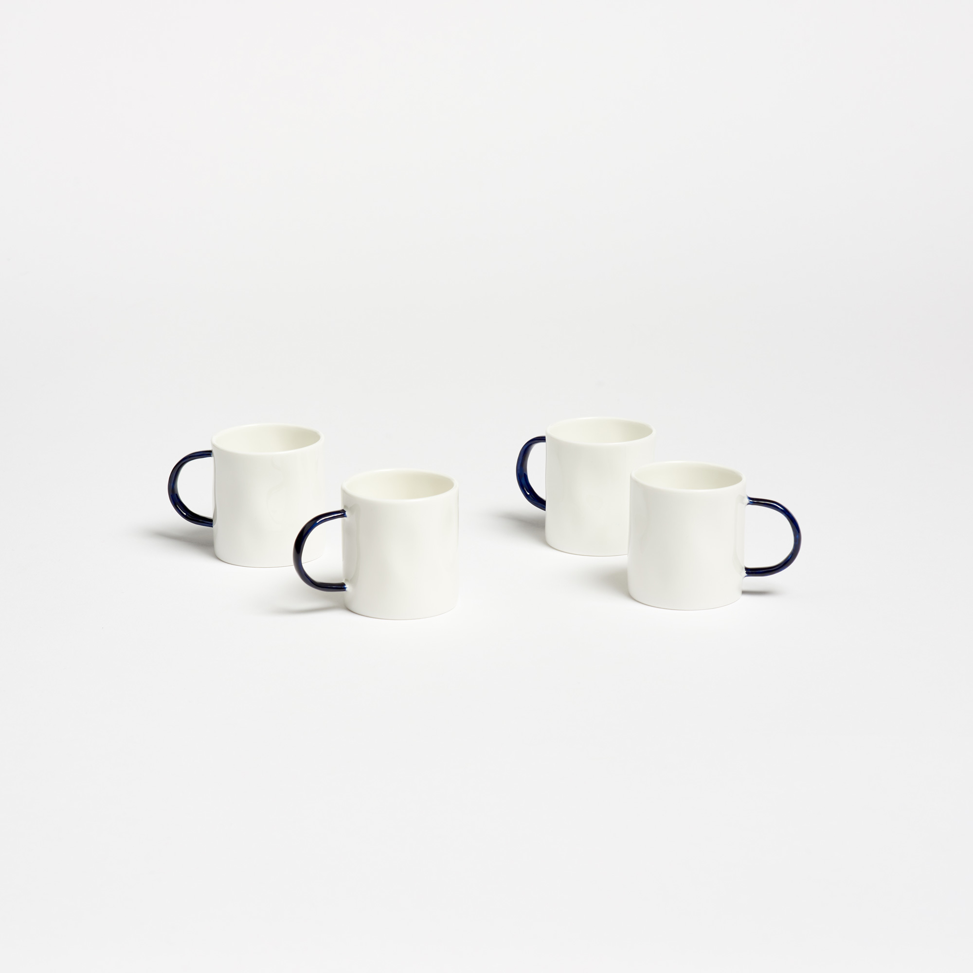 5adea209dd0 Feldspar Set of 4 Bone China Espresso Cups | The Garnered