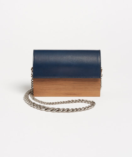 The Garnered - Carine Clutch Wood Hugo Matha Bags The Garnered 35